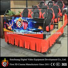 9D cinema simulator, hydraulic platform 9D cinema