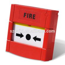 resettable emergency break glass fire alarm button