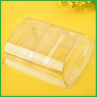 Disposable Small Clear Plastic Folding Box For Electronics
