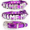 Fashion cheap Rhinestone letter name collar