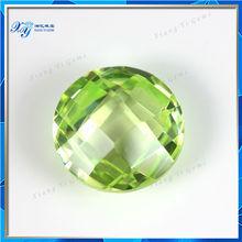 Grade AAA Buyers of Wuzhou Xiang Yi Gems Rough Charming Light Green Semi Precious Stone