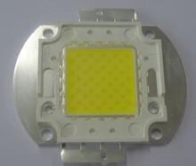 70w led white color led chips 70w 110-120lm per watt, CRI80 70 watt power led