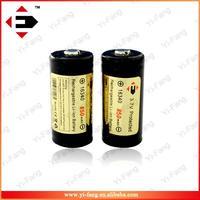 Good quality EFAN 16340 850mAh battery electronic cigarette mods