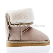 2015 classic sheepskin kids snow boot
