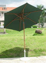 2014 wooden patio umbrella