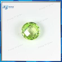 Beautiful CZ Hot sale Buyers of Wuzhou Xiang Yi Gems Rough Charming Light Green Semi Precious Stone