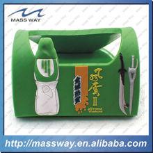 customized fashion soft PVC rubber mobile phone holder