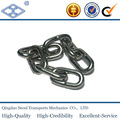 Astm80 padrão g70 pesados ferro de alta resistência transprot link cadeia 1/4