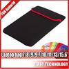 "2014 Hot selling tablet protective cover case Waterproof Neoprene Tablet/Laptop Bag 7""/8""/9""/10.1""/13""/15.6""/17.3"""