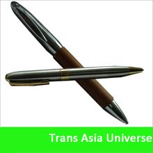 2013 new heavy metal/copper ballpen with customer brand name