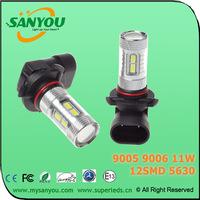 9005 9006 Samsung 5630 12SMD led car light