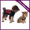 Dark Green & Red Argyle Dog Sweater