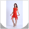 Rose red dress with black straps design bodycon dress celebrity bandage dress 90365