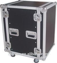 14 U case 14 U flight case 14 U speaker case flight case for speakers