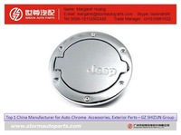 China zinc alloy gas door cover small engine fuel tank for jeep wrangler gas mini car