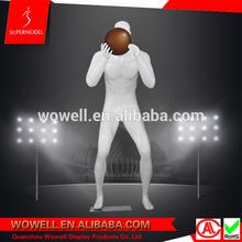 Strong muscle fiberglass basketball mannequin