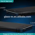 melhor qualidade de telefone celular atacado acessórios temperado vidro protetor de tela para iphone 5s