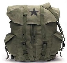 Classic Outdoor Tactical bags Canvas Army bag Sports Military Camping Hiking Camping