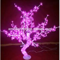 led tree wedding stage decoration