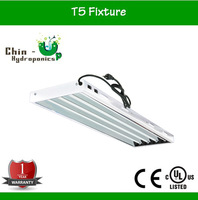 hydroponics 54w t5 fixture for plant grow