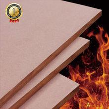 fire prevention middle density fiberboard for ktv