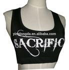 bra tank tops ladies women sport bra crop top gym wear body building wholesale gym wear custom logo fashionable tank top singlet