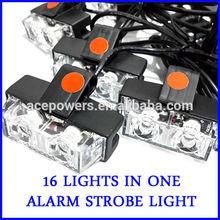 32 LED Warning Blinking Strobe Flash Light Lightbar Deck Dash Grille LED EMERGENCY STROBE LIGHTS 12V