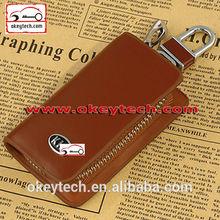 Okeytech 2014 new genuine leather car key case for kia key holder wallet