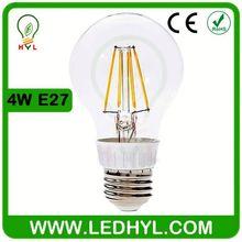 LED Filament Bulb Lamp Light 2700-3000K COB COG A60 E27 4W favorites compare led filament bulb