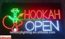 hookah open sign