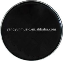 "black color drum head in 6"" -- 28"" for percussion accessories"