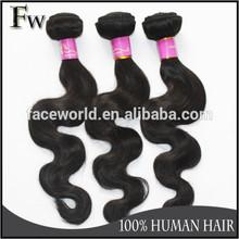 Faceworld hot sell factory direct china inch brazilian body wave hair