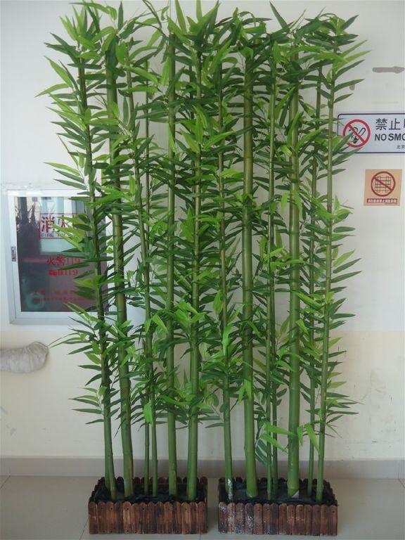 2014new style bambou artificielle plantes haute for Plante bambou exterieur