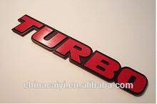 Logo 3D Stickers Metal Badge Racing Decal