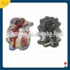 Custom design 3d rubber fridge magnet