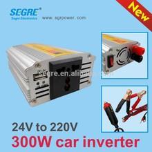 dc to ac car power inverter 300w 24v dc converter inverter china