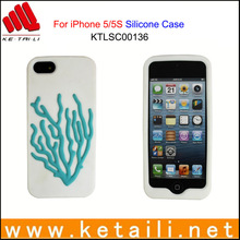 Beautiful silicone phone cover for Iphone with epoxy logo