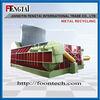 automatic scrap metal sawdust baler machine