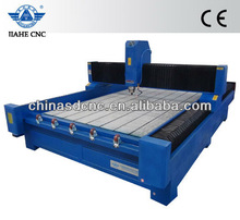Heavy T-slot frame Stone CNC Engraving Machine JK-2030 200*300cm work size with rack gears,5.5kw spindle