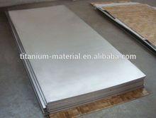 High quality grade 5 titanium zinc sheet/plate for hho generator