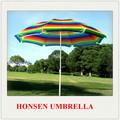 Venda quente da praia guarda-chuva de bambu