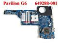 Original pabellón 649288-001 g6 g7 amd portátil notebook pc placa base la placa del sistema para hp compaq 100%& probado de trabajo perfecto
