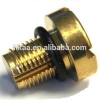 custom brass furniture cam lock screw