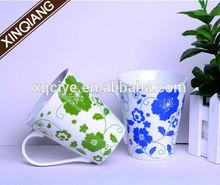 Housewares 12oz special design handle ceramic mug