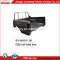 Doble cabina nissan d22/frontier caja de carga/la cola de la caja de carga de recogida 4x4