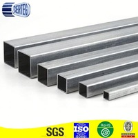 Galvanized Steel Pipe/steel pipe for structure 100mm square hollow section gi steel pipe