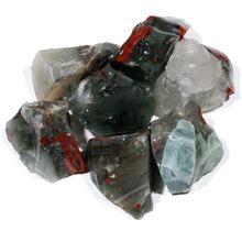 Sangue africano Natural pedra bruta de pedra Semi preciosa de como amostra presente