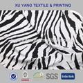 Zebra impressão grosso tecido spandex lycra para swimsuit/biquíni/swimwear