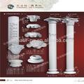 Poliuretano colunas romanas / PU bolo de casamento pilares / PU ornamentos