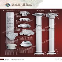 Poliuretano roman pilares/pu bolo de casamento pilares/pu ornaments